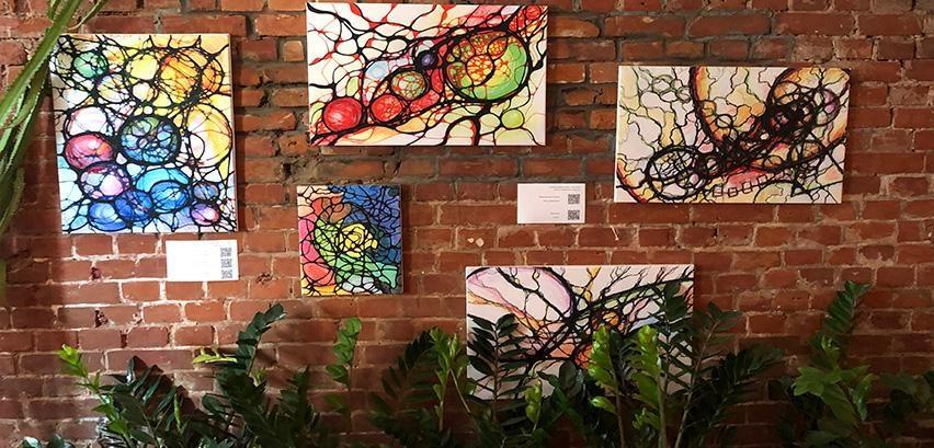 выставка нейрографики
