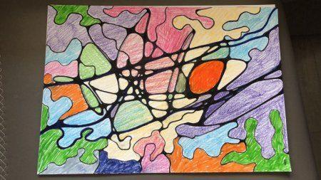 рисунок нейрографики пример