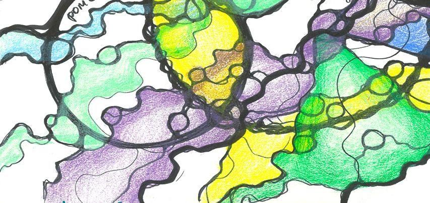 рисунок нейрографики