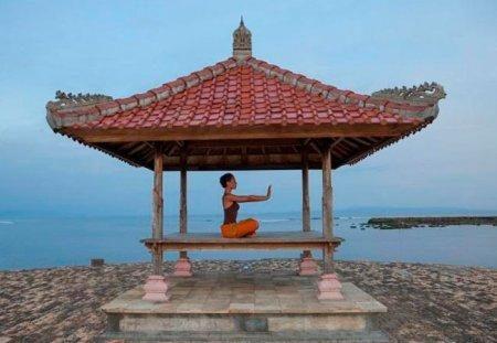 медитация на бали