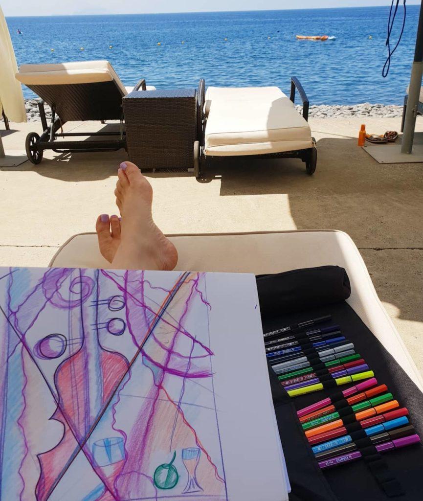 нейрографика в отпуске