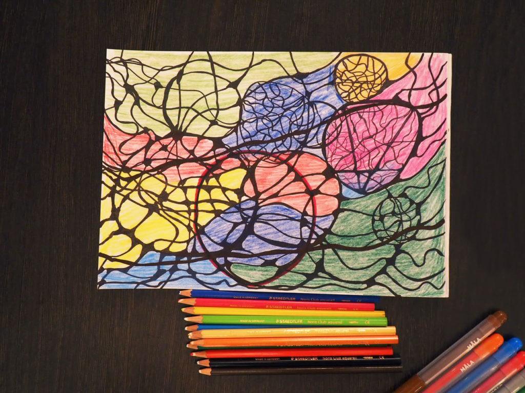 рисунок нейрографика